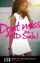 AND begins its End Of Season Sale 10% to 50% off starting from 5th of July 2012. all the ANDvantage members get an additional 10% off on 3rd and 4th July 2012