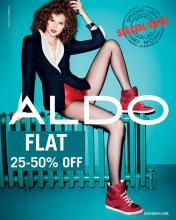 Festive Offer - *Flat 25-50% off on ALDO shoes for a limited period