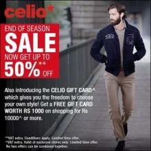 Celio End Of Season Sale - Get Up To 50% Off