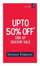 Indian Terrain - End of Season Sale - Upto 50% off