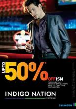 Indigo Nation presents Offism ! Get upto 50% off at all exclusive stores