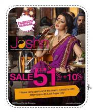 Fashion Rampage - Sale - upto 50% off + 10% off on 4 and 5 August 2012 at Jashn