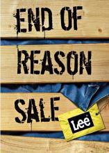 Lee End of Season Sale - Upto 50% off on Lee Merchandise