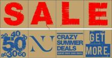 NU End of Season SALE has just begun ! Crazy Summer deals at Numero Uno