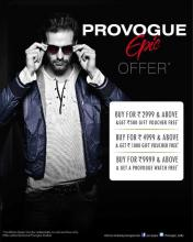 The Season's celebrations just got better! Usher in the Festive Season with exciting offers from Provogue - currently on at a Provogue studio near you.