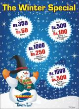 The Winter Special offers at Timezone. Winters bring in more fun with these cool offers....