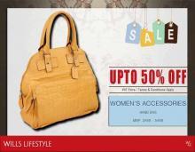Wills Lifestyle Fashion Fiesta - Sale, upto 50% off