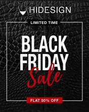 Black Friday Sale - Flat 50% off at Hidesign