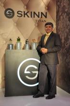 Bhaskar Bhat Managing Director Titan Company launches SKINN Titan fragrances