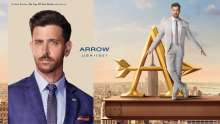 Arvind's brand ARROW ties up with Hrithik Roshan  HRITHIK ROSHAN 'ON TOP OF THE WORLD' WITH ARROW