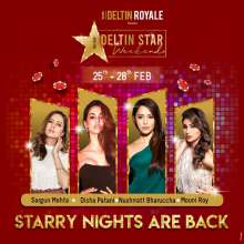 Disha Patani, Nushrratt Bharuccha, Mouni Roy and Sargun Mehta to mesmerize you with their presence at Deltin Royale Starry Nights