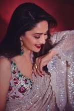 Madhuri Dixit sparkles inRimple Harpreet Narula's saree